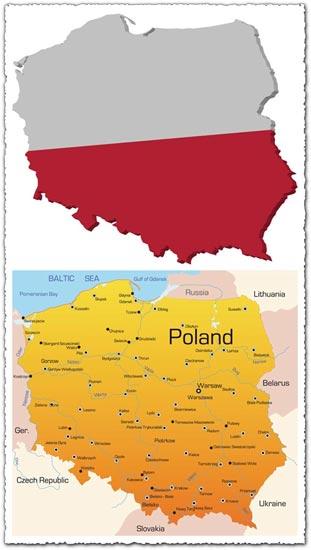 poland-vector-maps